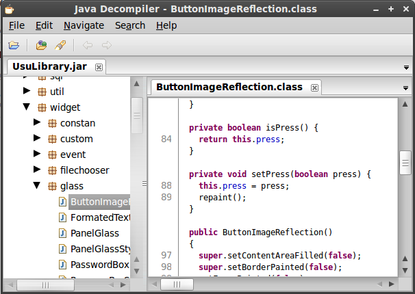 Java Decompiler