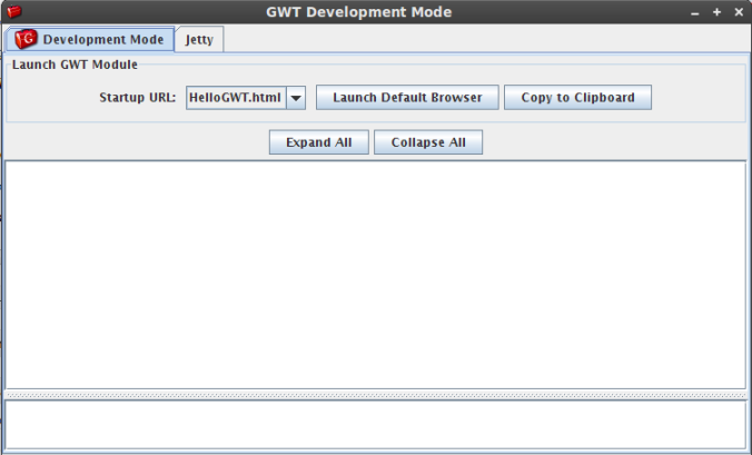 GWT Development Mode
