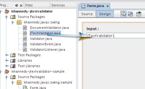 JTextValidator Component