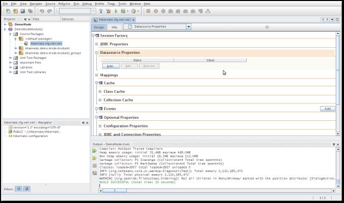 NetBeans IDE 6.9 - Hibernate Support