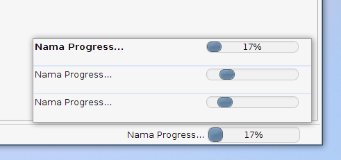 NetBeans Progress Bar