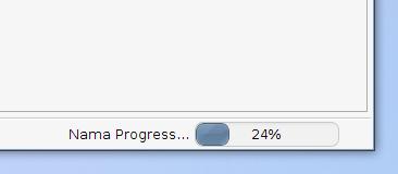 NetBeans Progress StatusBar