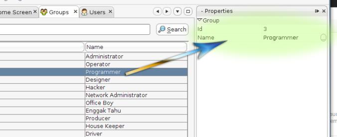 NetBeans Property Sheet