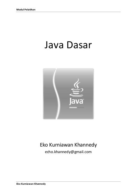 Java Dasar