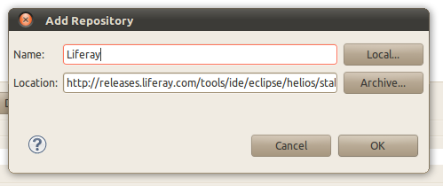 Liferay IDE