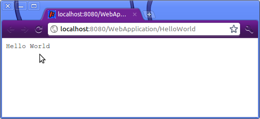 Screenshot-localhost:8080-WebApplication-HelloWorld - Google Chrome