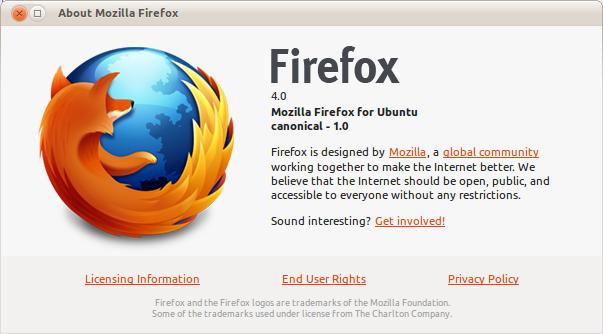 About Mozilla Firefox 4