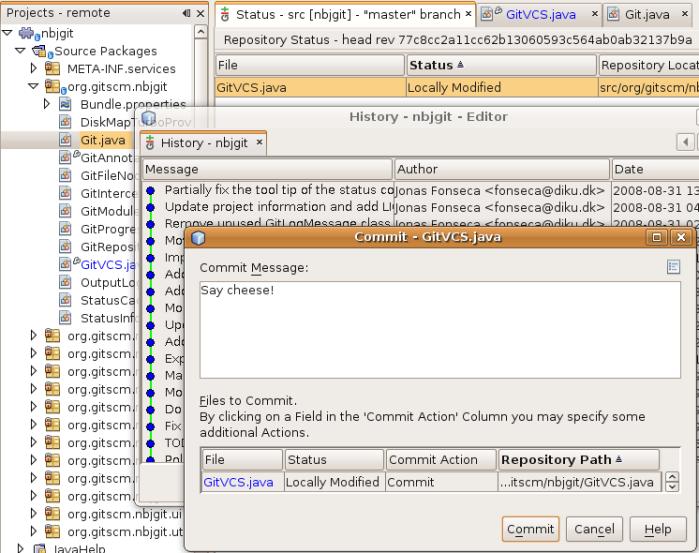NetBeans Git Module