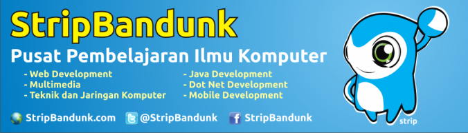 StripBandunk - Pusat Pembelajaran Ilmu Komputer