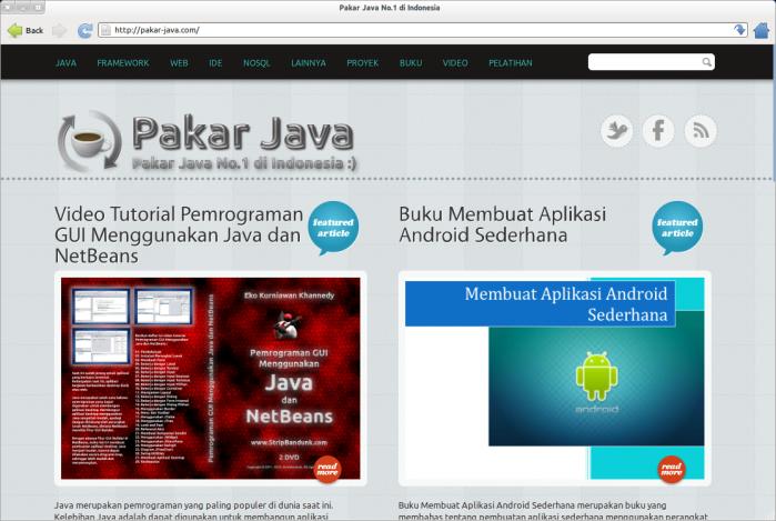 Pakar Java No.1 di Indonesia