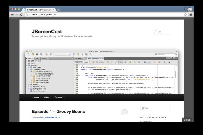 JScreenCast