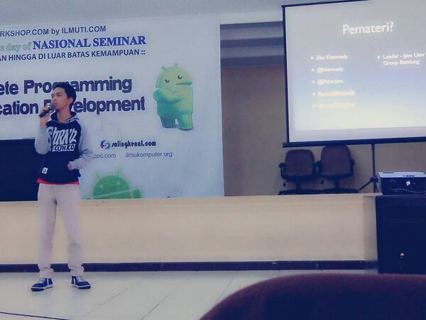 Eko Kurniawan Khannedy - Seminar Android